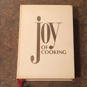 1975 Edition The Joy of Cooking Hardcover Book